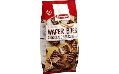 Semper Wafer bites suklaavohveli 125g gton