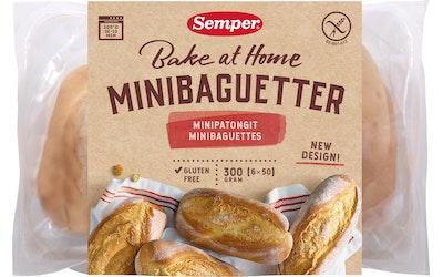 Semper Minipatongit 6kpl x 50g gluteeniton leipä