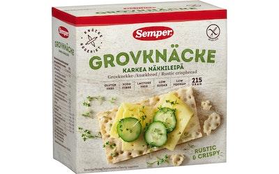 Semper Karkea näkkileipä 215g gluteeniton