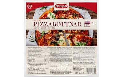 Semper Pizzapohjat 2 x 150g gluteeniton