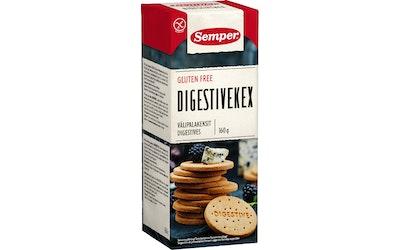 Semper Digestive keksi 160g glton