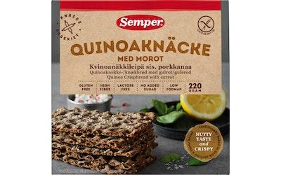 Semper 220g Kvinoanäkkileipä gluteeniton