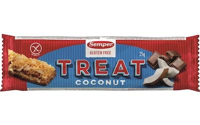 Semper 25g Treat kookos viljapatukka gluteeniton