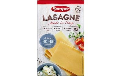 Semper Lasagne 250g gluteeniton pasta