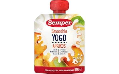 Semper smoothie 6kk 90g ban aprik jogurt