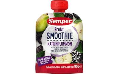 Semper Frukt smoothie päärynä luumu 90g 6kk