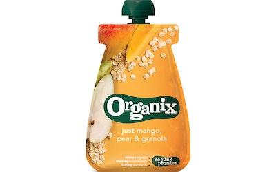 Organix 100g 6kk mango päärynä granola