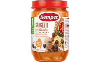 Semper spagettia ja lihapullia 190g 1v