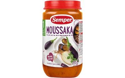 Semper Moussaka 235g alk 1 v lastenruoka