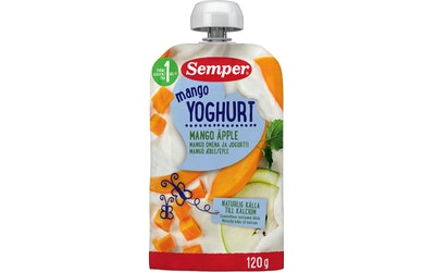 Semper jogurttisose 120g 12kk mango omena j
