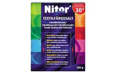 Nitor tekstiilivärisuola 500 g