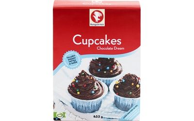 Kungsörnen cupcakes 455g suklaa