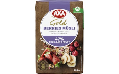 AXA Gold Mysli Berries 725g