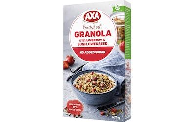 AXA mansikka & mustaviinimarja granola 475g