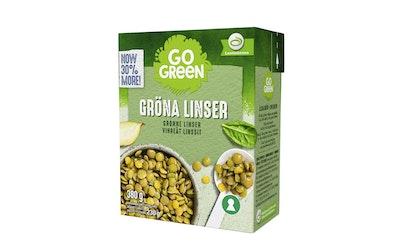GoGreen Vihreät linssit 380 g/230 g