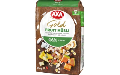 AXA mysli gold 750g hedelmä