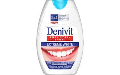 Denivit 75ml hammastahna 2in1 Extreme White