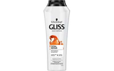 Gliss 250ml shampoo Total Repair - kuva