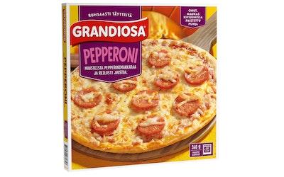 Grandiosa pepperoni kiviuunipizza 300