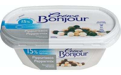 Crème Bonjour Pippuriseos 15 % vähälakt.tuorejuusto 200 g