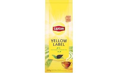 Lipton Yellow Label musta tee 150 g