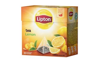 Lipton Lemon tee 20 pyramidipussia 34g