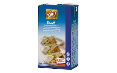 Carte d'Or Vanilla vaniljakastike 1l vähälaktoosinen