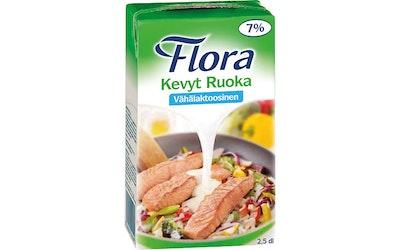 Flora 250ml Kevyt ruoka 7% kasvirasvasekoite