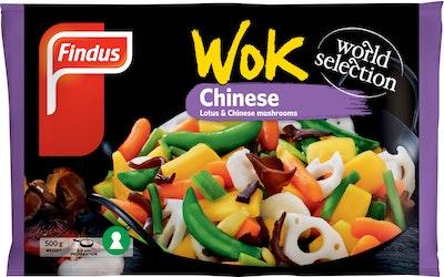 Findus Wok Chinese 500g