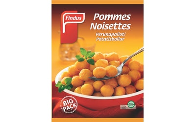 Findus Pommes Noisettes Big Pack 1 kg