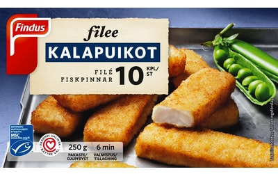 Findus Filee Kalapuikot 250 g