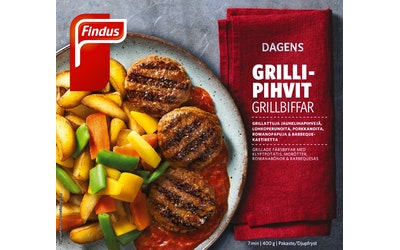 Findus Dagens Grillipihvit & Barbeque-kastiketta 400 g