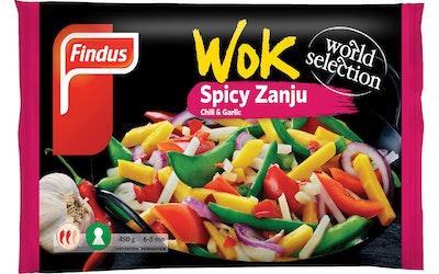 Findus Wok 450g Spicy Zanju