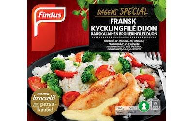 Findus Dagens Special broilerinfilee dijon 390g ranskalainen