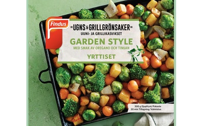 Findus Uuni&grillikasvikset 500g Yrttiset