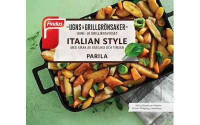 Findus Uuni- ja grillikasvikset Parila 500g