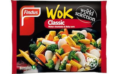 Findus Wok Classic Big Pack 750g