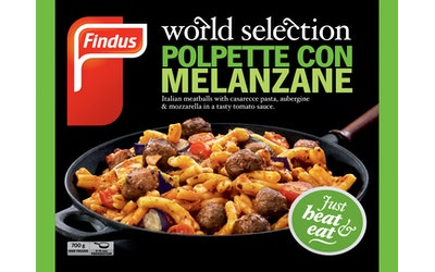 Findus 700g World Selection Polpette con Melanzane