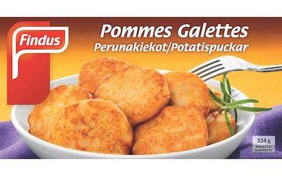 Findus Perunakiekko 324g Pommes Galet
