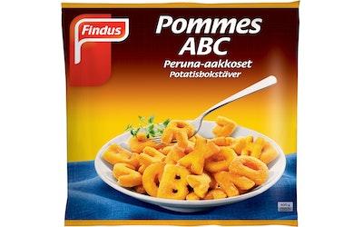 Findus Peruna-aakkoset 600g Pommes ABC