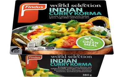 Findus World Selection 380g indian curry korma
