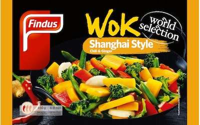 Findus Wok 450g Shanghai World Selection