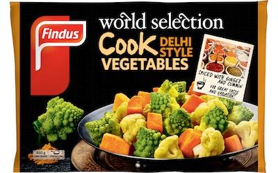 Findus Cook vegetables 450g Delhi