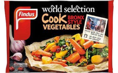 Findus Cook vegetable 450g Bronx