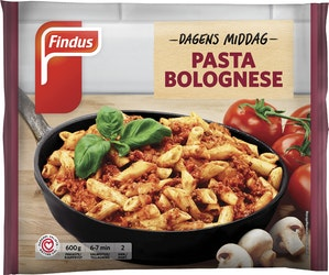 Findus Dagens Middag 600g Pasta Bolognese