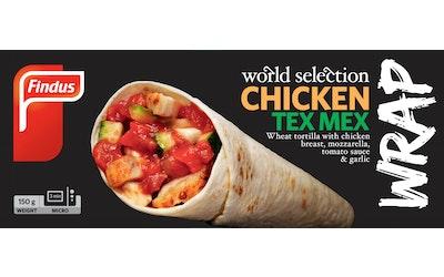 Findus ws chicken wrap tex mex 150g