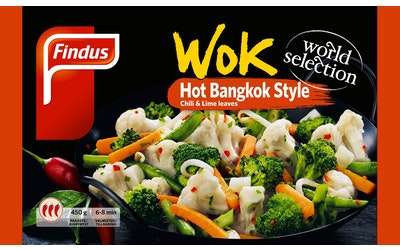 Findus wok hot bangkok 450g