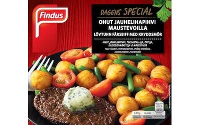 Findus Dagens Special lehtipihvi maustevoilla 340g pakaste