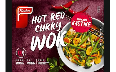 Findus Hot Red Curry 400g pakaste