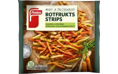 Findus porkkana ja palsternakkatikut 450g gluteeniton pakaste